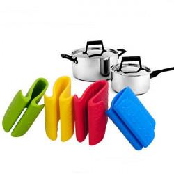 Große Silica Gel Clip Mikrowellenherd Rutschhemmende Anti hot Handschuh