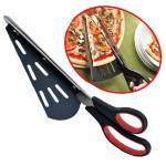Lengthen Stainless Steel Pizza Scissors Shovel 31CM Kitchen,Dining & Bar