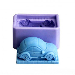 Little Car Shape Cake Mold Silicone Fondant Mould