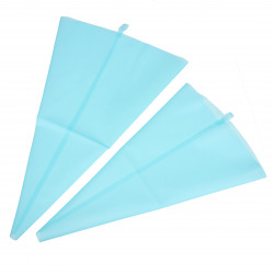 M Silicone Reusable Cake Piping Bag Icing Cream Pastry Decorating Tool
