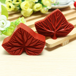 Maple Leaf Cake Mold Embossing Die Sugar Craft Tool