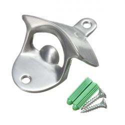 Metal Crown Polerad Väggmonterad Ölflaska Öppnare