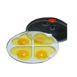 Mikrobølgeovn 4 Æg Hjerteformede Poacher Cooker Omelette Maker