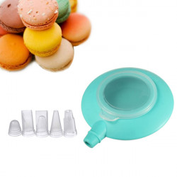 Mini Silicone Cake Macaron Decorating Pen 3 Nozzle Kit Set