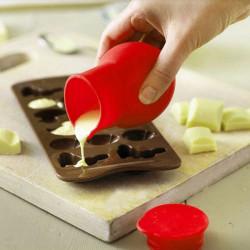 Mini Silikone Chokolade Melting Pot Bagning Værktøj