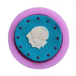 Nederland Royal Family Silikon Fondant Mold Chocolate Clay Mould