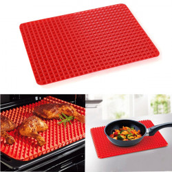 Icke-Stick Micro Silikon Bakning Mat Pyramid Matlagning Pan Ugn Bakplåt
