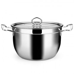 Non Magnetic Rostfritt Stål Composite Bottom Soup Pot Stew Pan