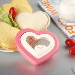 Neuheit DIY Sandwich Form Herz Toastbrot Liebe Mould