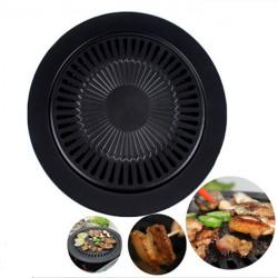 Friluftsliv Grill Supplies Non-stick Stekt Pan Portable Circular Pan