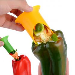 Pepper Tomato Coring Tools Creative Kitchen Helper Pepper Corer