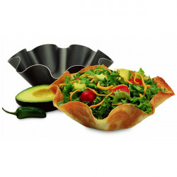 4st Perfekt Tortilla Bakning Non-stick Inte Stekt Pan