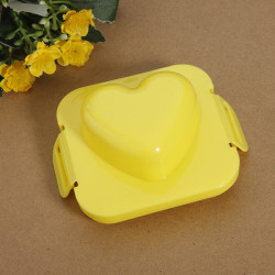 Plastic Heart Shape Egg Rice Mold