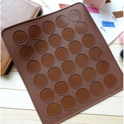Silicone Baking Macarons Mat Cake Cookie Chocolate Molds Mould