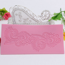 Silikone Blomst Lace Form Fondant Kage Sugar Craft Udsmykning