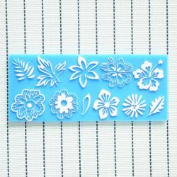 Silikon Blumen Blatt Spitze Kuchen Form Dekorationen für Kuchen Fondant