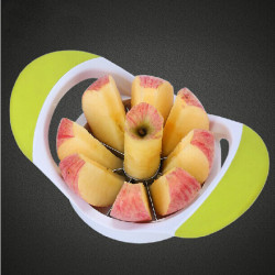 Stainless Steel Apple Corer Slicer Cutter Splitter