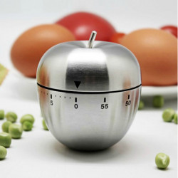 Rustfrit Stål Køkken Timer Mekanisk Timere Cooking Timer Alarm