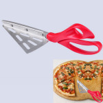 Edelstahl Pizza Schere Schaufel 27CM Küche & Bar