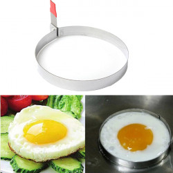 Stainless Steel Round Fried Egg Cutter Cooking Mold