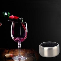 Rostfritt Stål Vinflaska Stopper Collar Dropp Ringen Stopper Collar