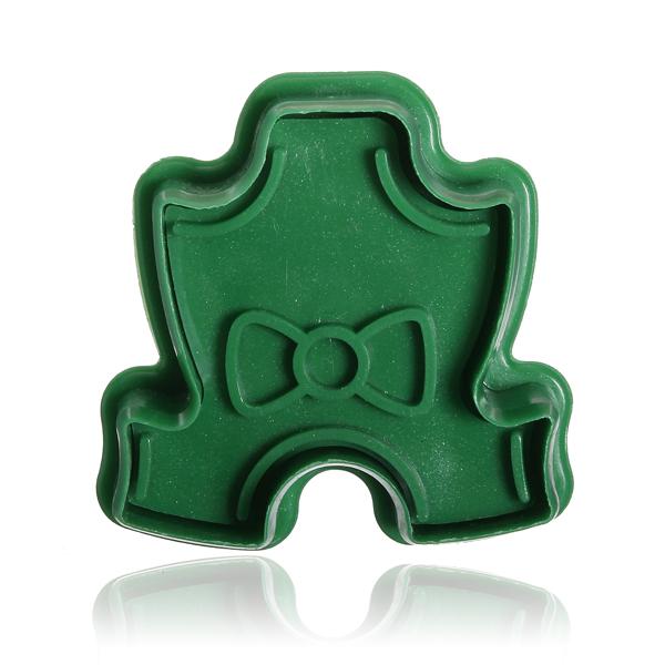 Stereo DIY Cartoon Bowknot Shape Cookie Cake Mold Kitchen,Dining & Bar
