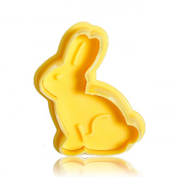 Stereo DIY Cartoon Rabbit Shape Cookie Cake Mold