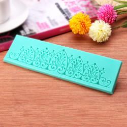 TC3761 Lace Form Silikone Kage Decorating Form Bagning Værktøj