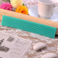TC3804 Lace Mold Silicone Baking Tool Fondant Cake Lace Mould