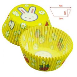 White Rabbit's Chocolate Cake Cupcake Paper Cups In Bluk