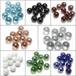 10X Gorgeous Glaskulor 16mm Pärlor Bollar Akvarium Dekoration Husdjurstillbehör