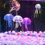 5 CM Artificiell Silikon Vivid Maneter för Fisk Akvarium Dekoration Husdjurstillbehör