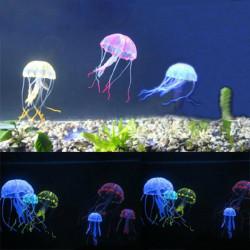 5 Farb Ein Set für Künstliche Qualle Fisch Aquarium Ornament 5cm