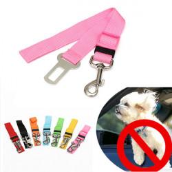 Einstellbare Haustier Hund Katze Fahrzeug Sicherheits Sicherheitsgurt Kabelstrangblei