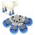 Anti Rutsch Waterproof Bottom Innenhaustier Socken Schuhe Schuhe Haustierzubehör