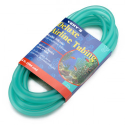 Aquarium 4x6mm Silicone Tube Airline Tubing Green 244cm