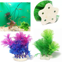 Aquarium Artificial Grass Water Weeds Plant Fish Tank Decoration