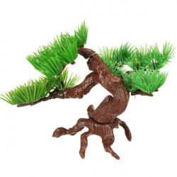 Aquarium künstliche Simulations Steingarten Pflanzen Pine Bonsai Baum