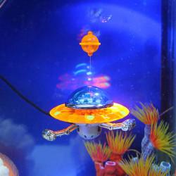 Aquarium Decoration Action-Air Aquarium Ornament UFO