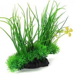 Akvarium Plaster Växt Grön Gräs Dekoration