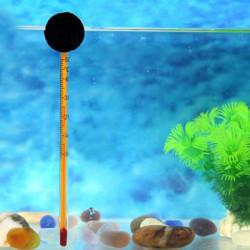 Akvarium Dränkbar Suction Glas Termometer Weatherglass
