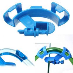 Aquarium Fish Tank Water Pipe Filter Hose Mount Tube Holder Blue