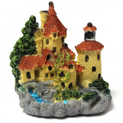 Aquarium Landscaping Castle Simulation Ornament Fish Tank Decoration
