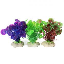 Akvarium Plast Vandplanter Dekoration for Akvarium