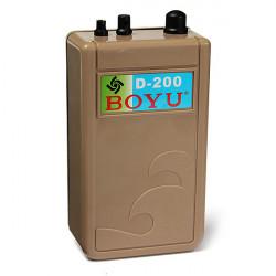 Boyu D-200 Akvarium Luftpumpe Vandtæt Batteri til Akvarium