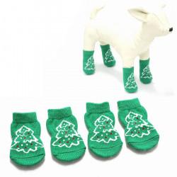 Weihnachtsbaum Muster Haustier Socken Hund Anti Rutsch Weihnachtssocken