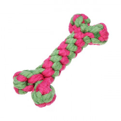 Cotton Knitted Bone Chew Play Toy for Pets Dogs Cats