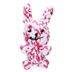 Baumwoll Strick Kaninchen Stil Chew Spielen Spielzeug für Haustiere Hunde Katzen
