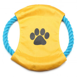 Cotton Rope Frisbee Flying Disc Toy for Pets Dogs