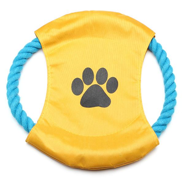 Baumwoll Seil Frisbee Flying Disc Spielzeug für Haustiere Hunde Haustierzubehör